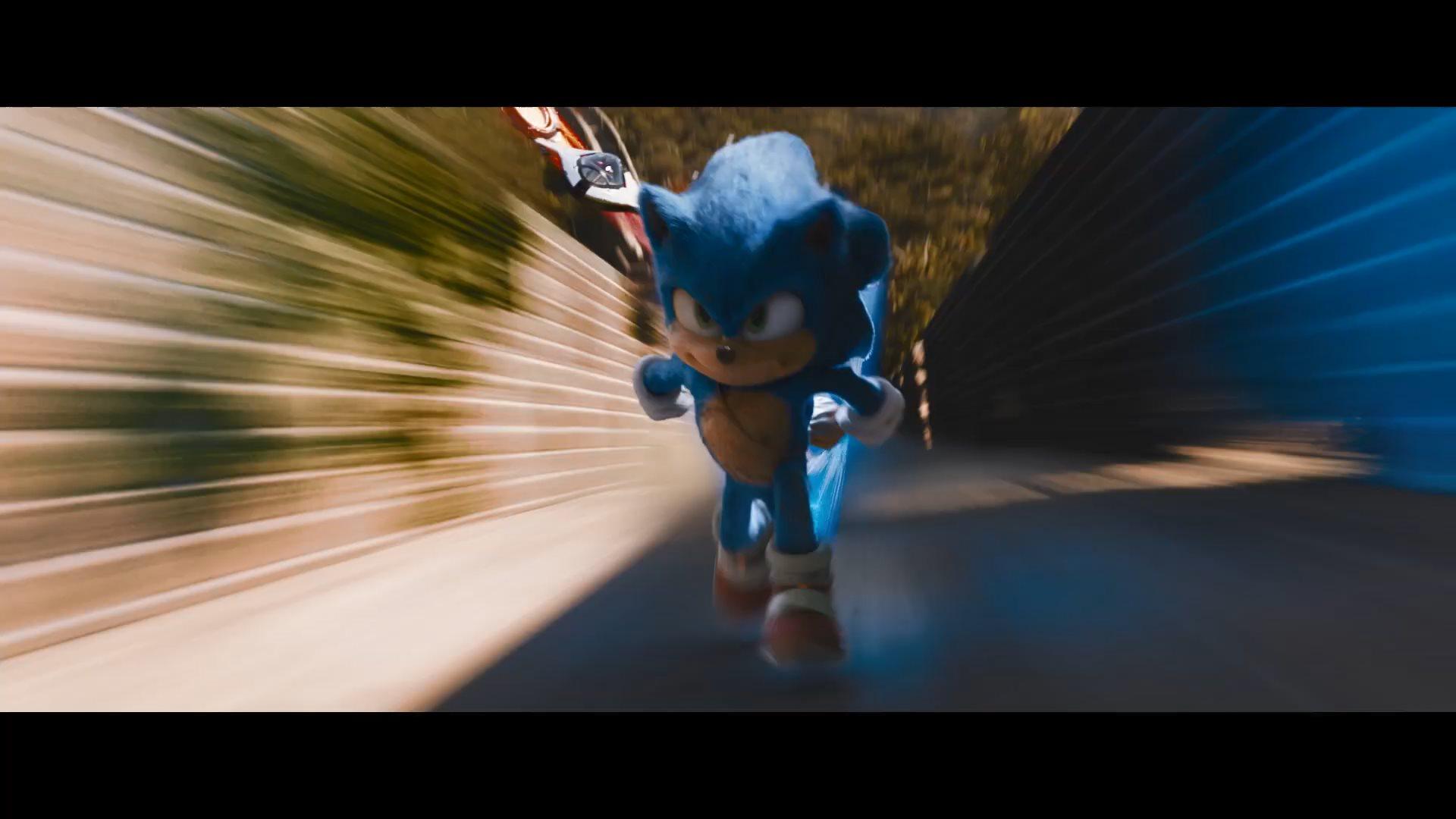 《刺猬索尼克》全新预告公开 音速小子回归游戏形象