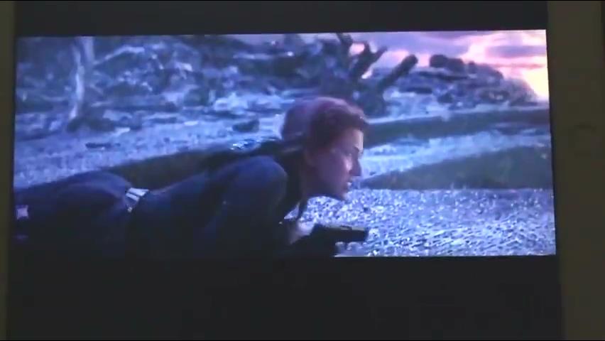 悲壮!《复联4》寡姐之死另外一个版本视频曝光