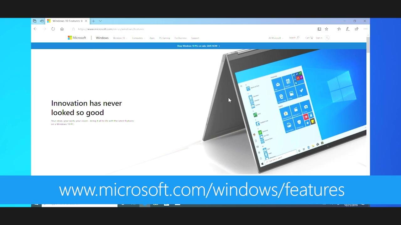 Windows 10 2019年11月更新现已正式推出