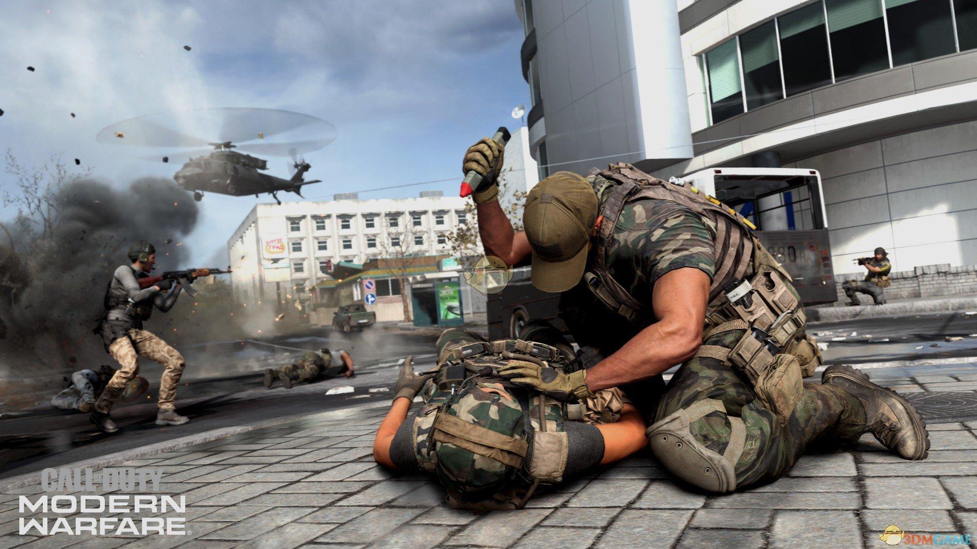 《使命召唤16:现代战争》MP5武器点评