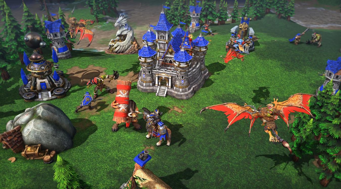 《魔兽争霸3:重制版》多人测试现已开启 更多游戏模式将上线