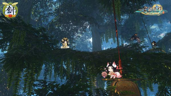 《古剑奇谭三》多语言版本&柿饼冒险玩法包今日更新