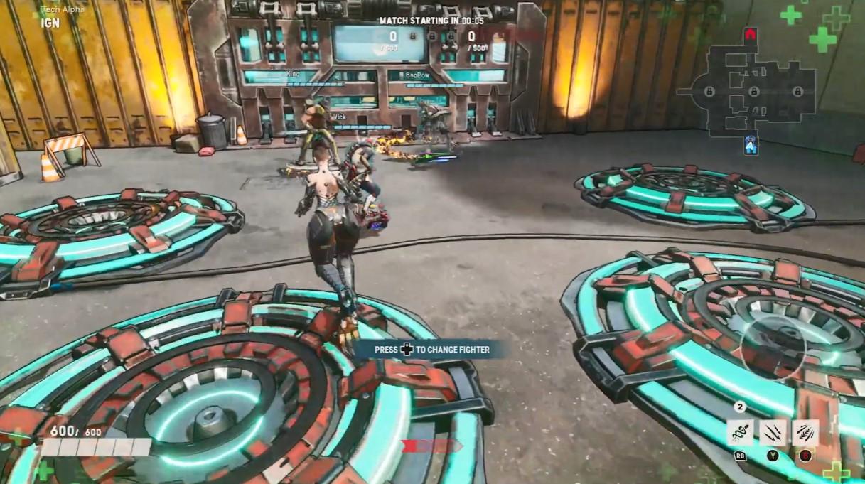 X019:微软多人近战网游《嗜血边缘》10分钟新角色演示