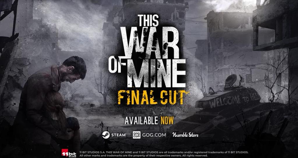 《这是我的战争》发售5周年 最终剪辑版现已免费更新