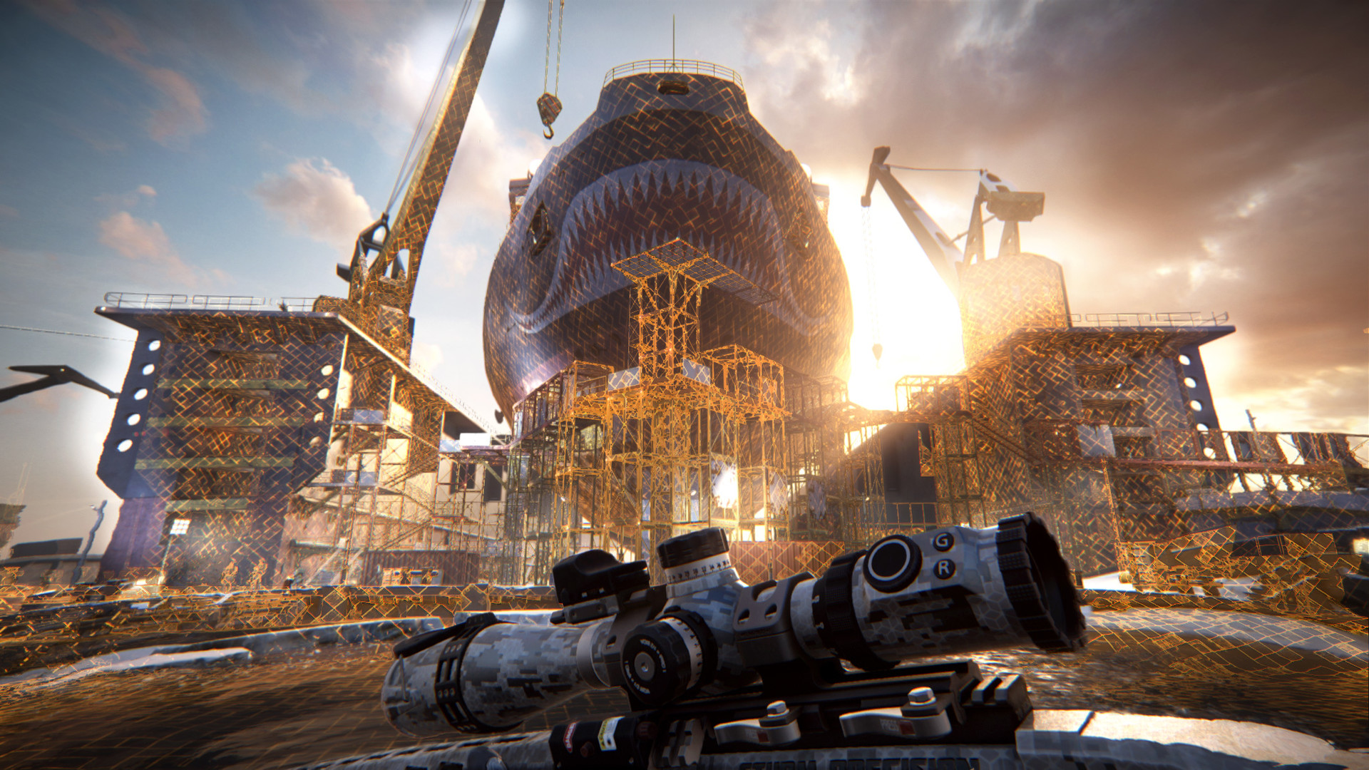 《狙击手:幽灵战士契约》首发将只有单机战役