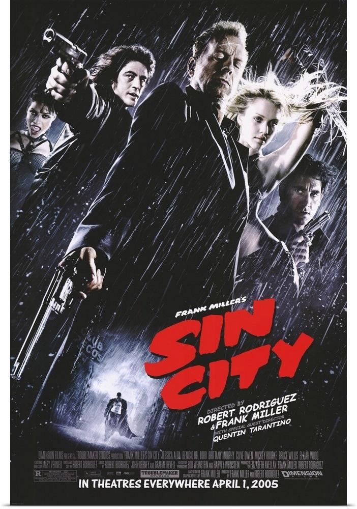 《罪恶之城》将拍电视剧 2005版电影导演回归