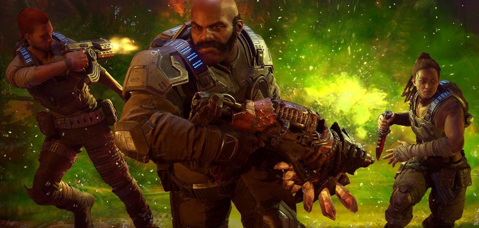 《战争机器5》销量超4代 Steam版更新后出现技术问题