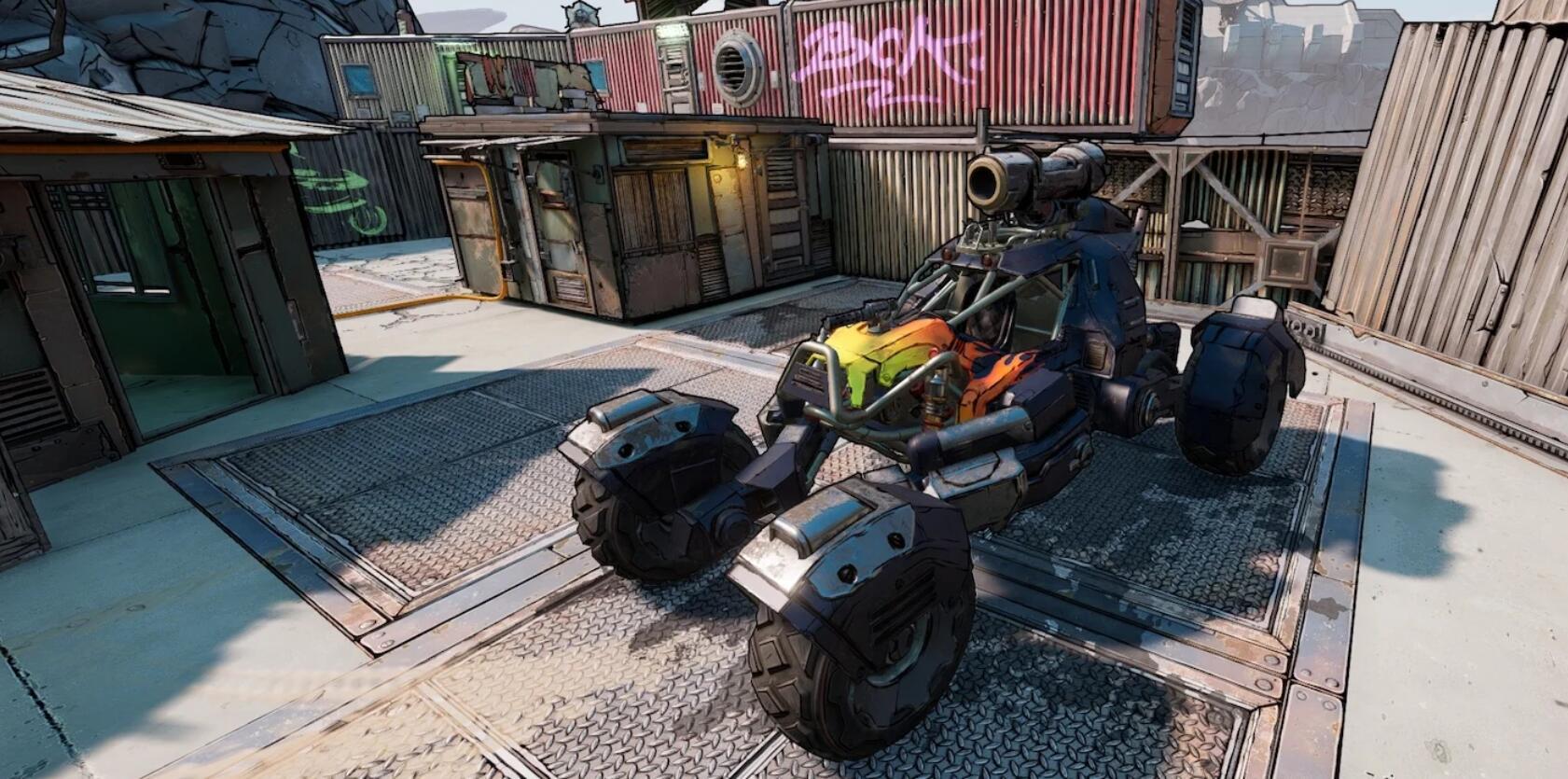 按F进入坦克?《无主之地3》DLC载具疑似曝光