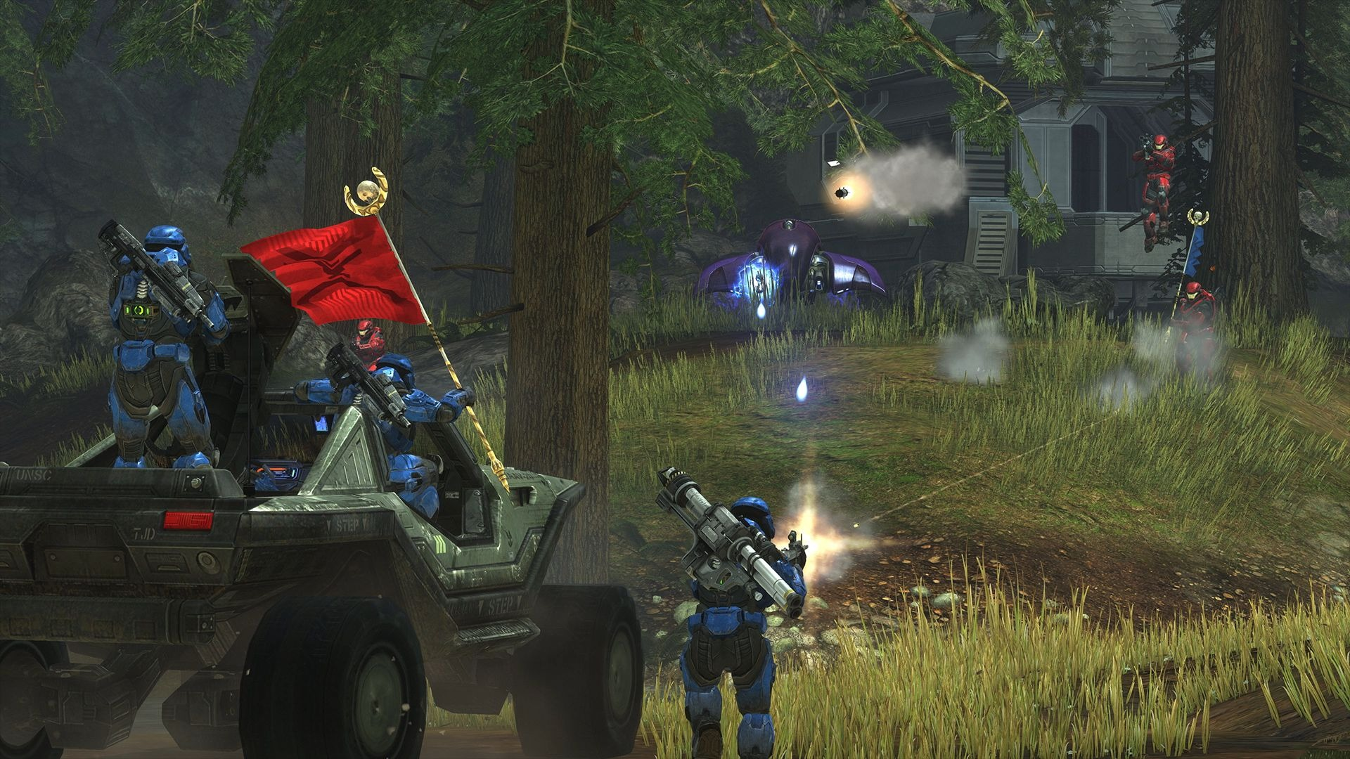 《光環:致遠星》PC版新截圖 經典游戲畫面提升