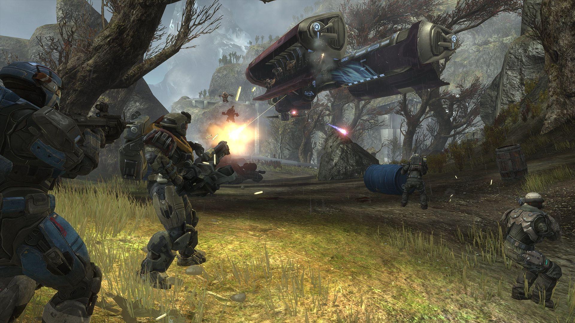 《光环:致远星》PC版新截图 经典游戏画面提升