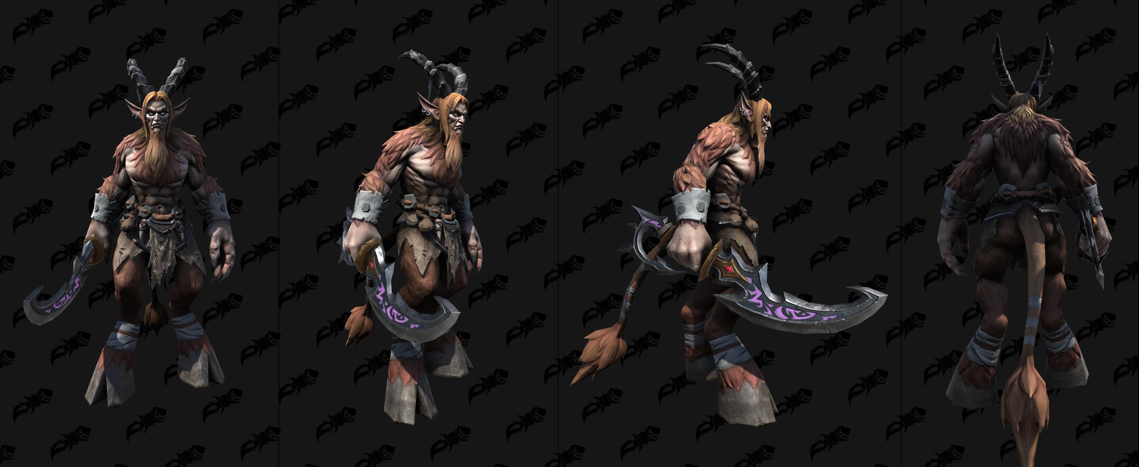 《魔兽争霸3:重制版》萨特和海象人模型 黑暗舞者美