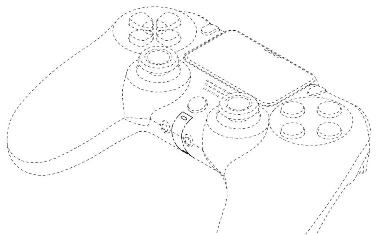 PS5手柄专利图疑似曝光 和PS4手柄没有太大变化