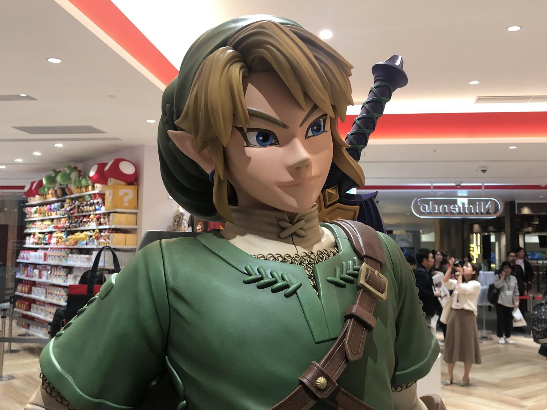 任天堂实体店Nintendo TOKYO内部图 好想买买买