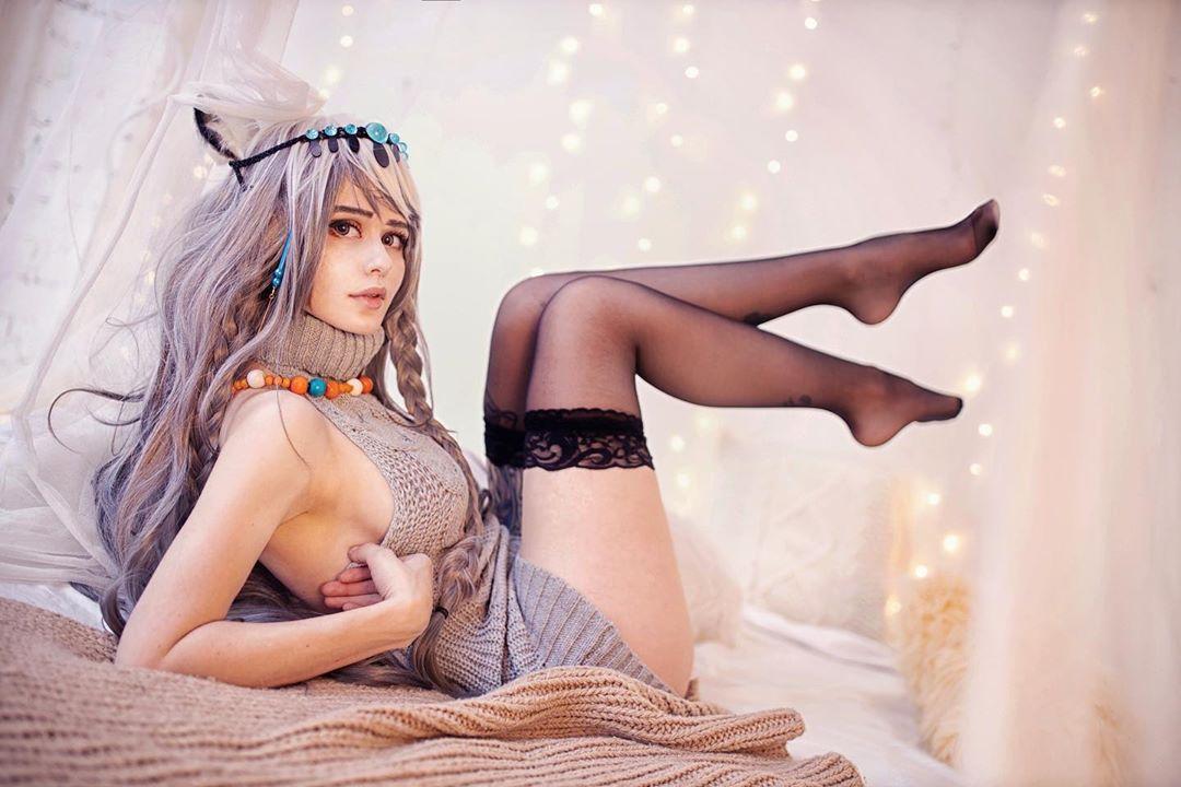 俄罗斯妹子Cos美图欣赏 性感魅惑让人把持不住