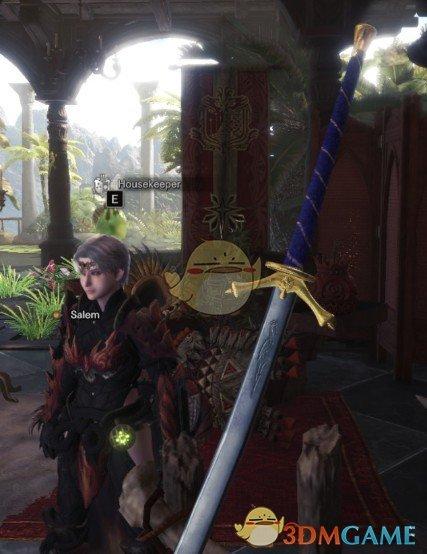 《怪物猎人:世界》时光之轮苍鹭宝剑MOD