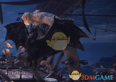 《怪物猎人:世界》集会所的古龙手办MOD