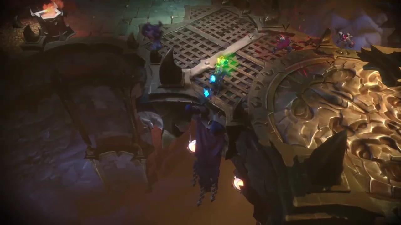 "THQ《暗黑血统:创世纪》""能力""预告片展示"