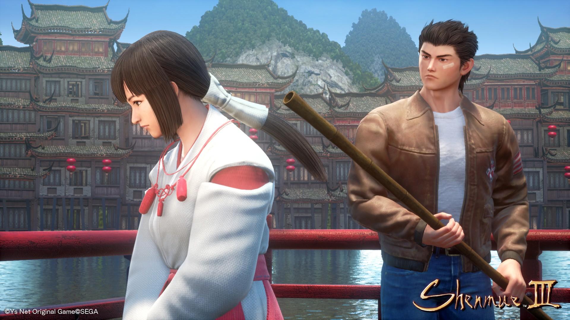 《莎木3》中文剧情流程攻略 莎木三部曲中文剧情流程