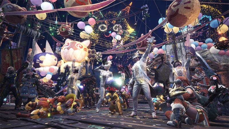 《怪物猎人:世界》连续五周星辰祭再开 防卫队衍生武器免费送