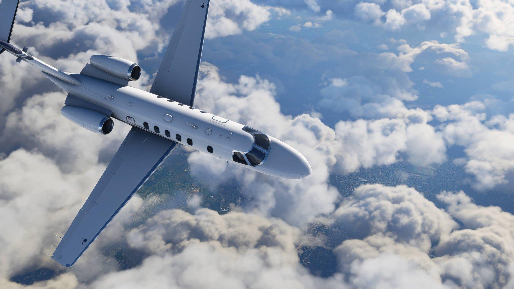翱翔天际!《微软飞行模拟》公布最新精美截图