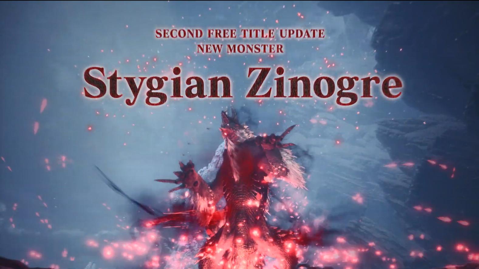 狱狼龙袭来!《怪猎世界》冰原第二弹大型免费更新宣传片
