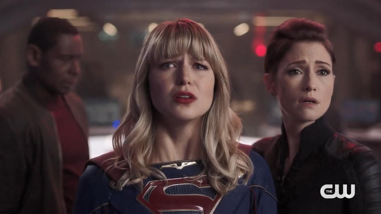 DC史诗联动集《无限地球危机》 超女、两位超人、闪电、绿箭