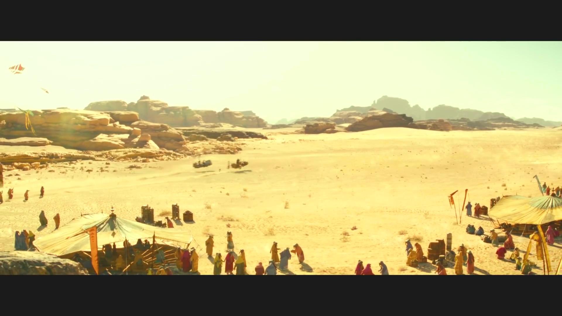 《星球大戰9》首曝片段 帝國白兵竟然可以飛了