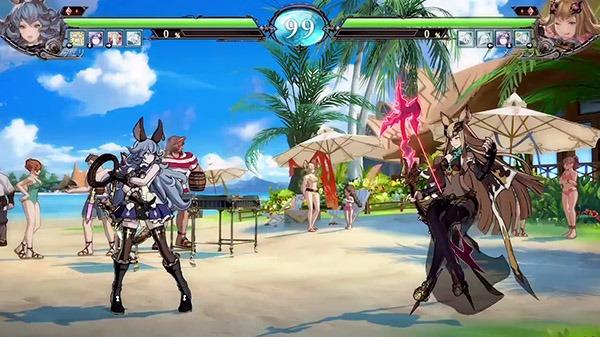 《碧蓝幻想VS》奥克斯特岛对战场景实机演示