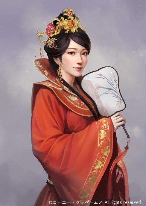 《三国志14》两位女武将立绘公开 公孙瓒之妻情报介绍