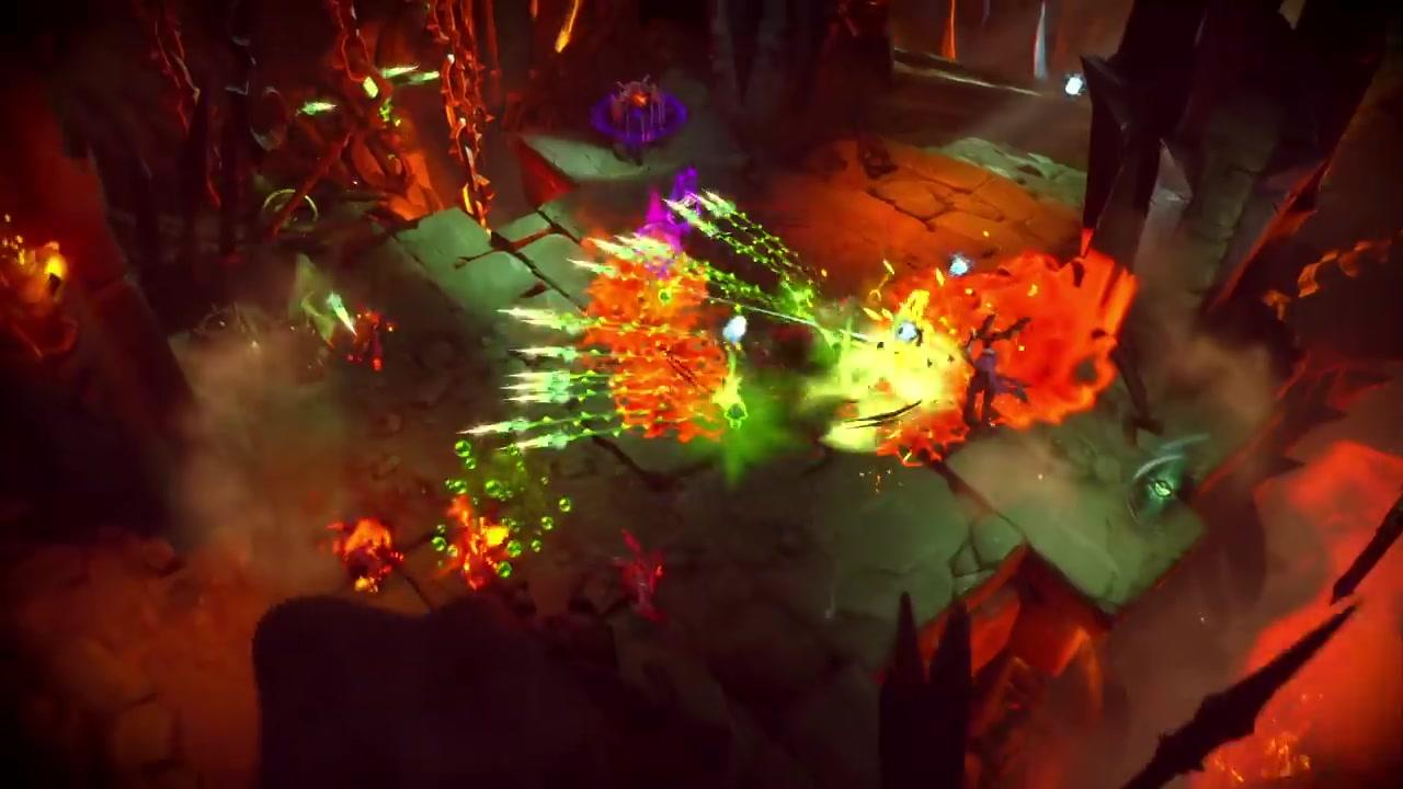《暗黑血统:创世纪》新预告片展示四骑士之纷争
