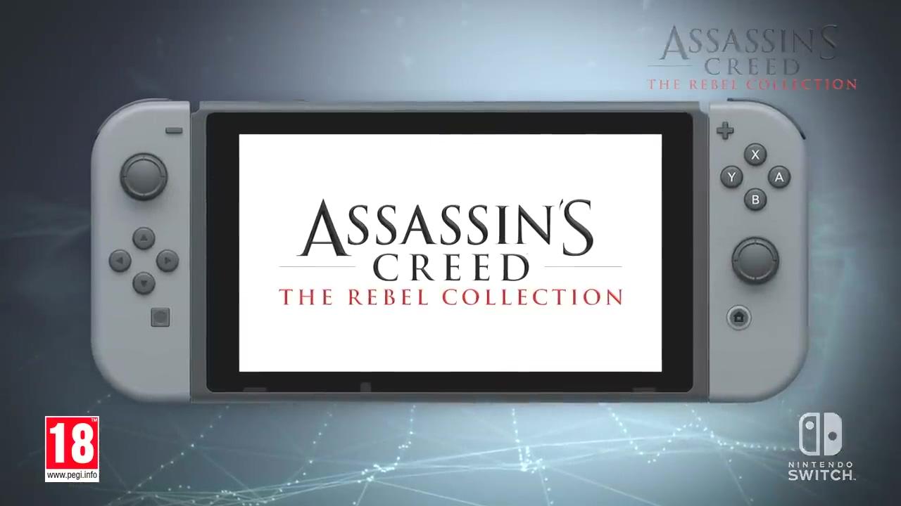 《刺客信条4》《刺客信条:叛变》Switch版发售日公布