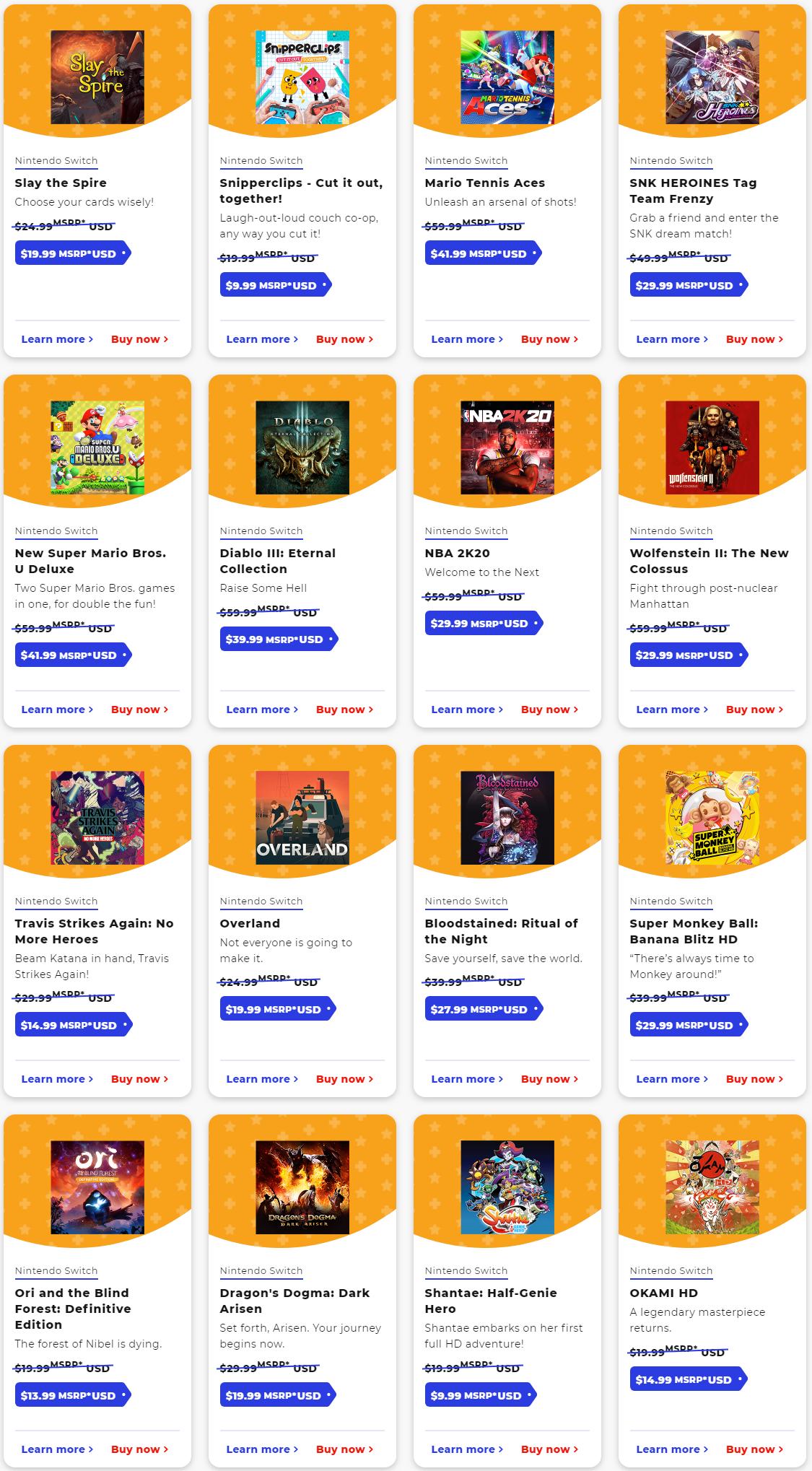 任天堂eShop美服黑五开启 《塞尔达传说》等大作纷纷降价