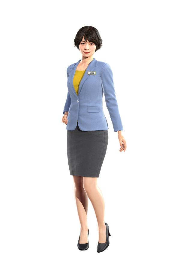 《如龙7》全新女性角色介绍:性感干练还很能干