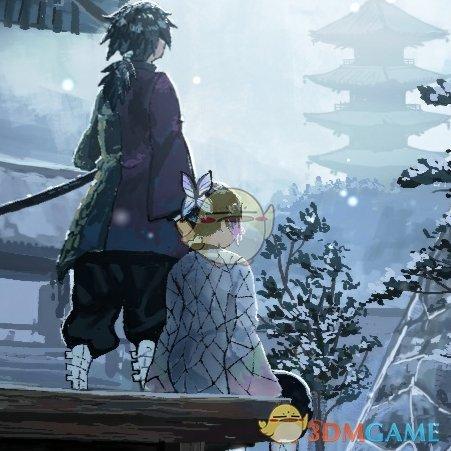 《Wallpaper Engine》雪中的义勇与蝶忍动态壁纸