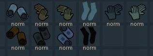 《边缘世界》手套靴子袜子v1.0 MOD