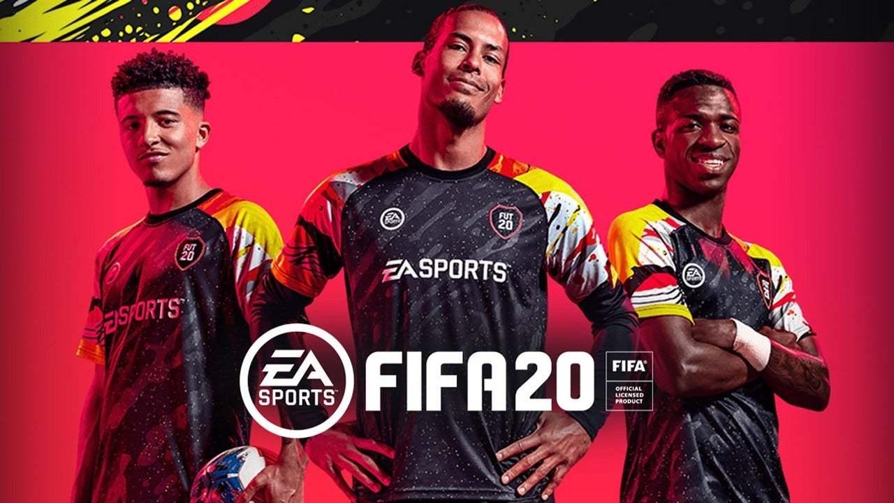 英国周销榜:黑五大促中《FIFA 20》夺得冠军