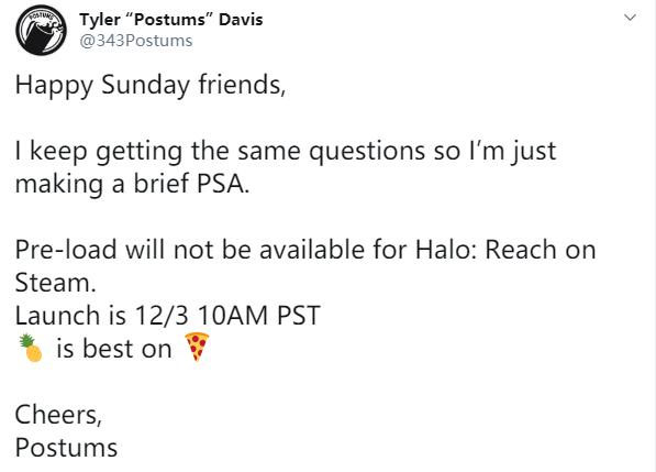 《光环:致远星》PC版解锁细节公布!Steam无法预载
