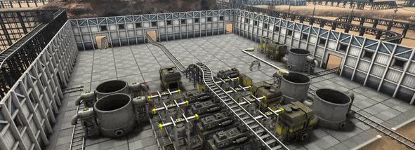 《自动化帝国》游戏特性介绍:高端流水线生产
