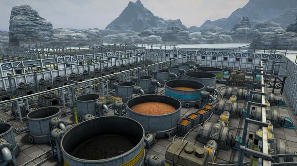 经营模拟游戏《自动化帝国》游戏截图欣赏:大型工业网来了