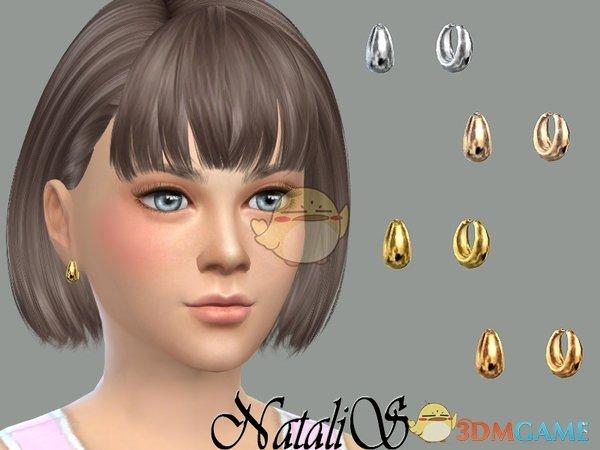 《模拟人生4》女孩金属耳环MOD