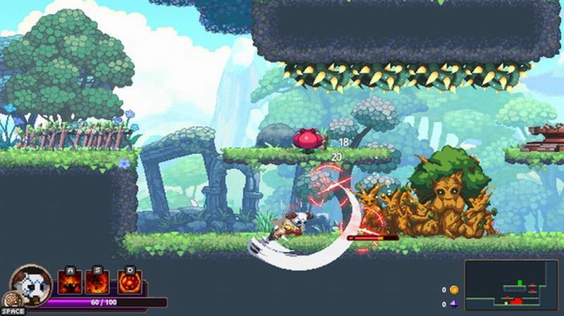 动作游戏《Skul:英雄杀手》配置需求 老爷机无压力