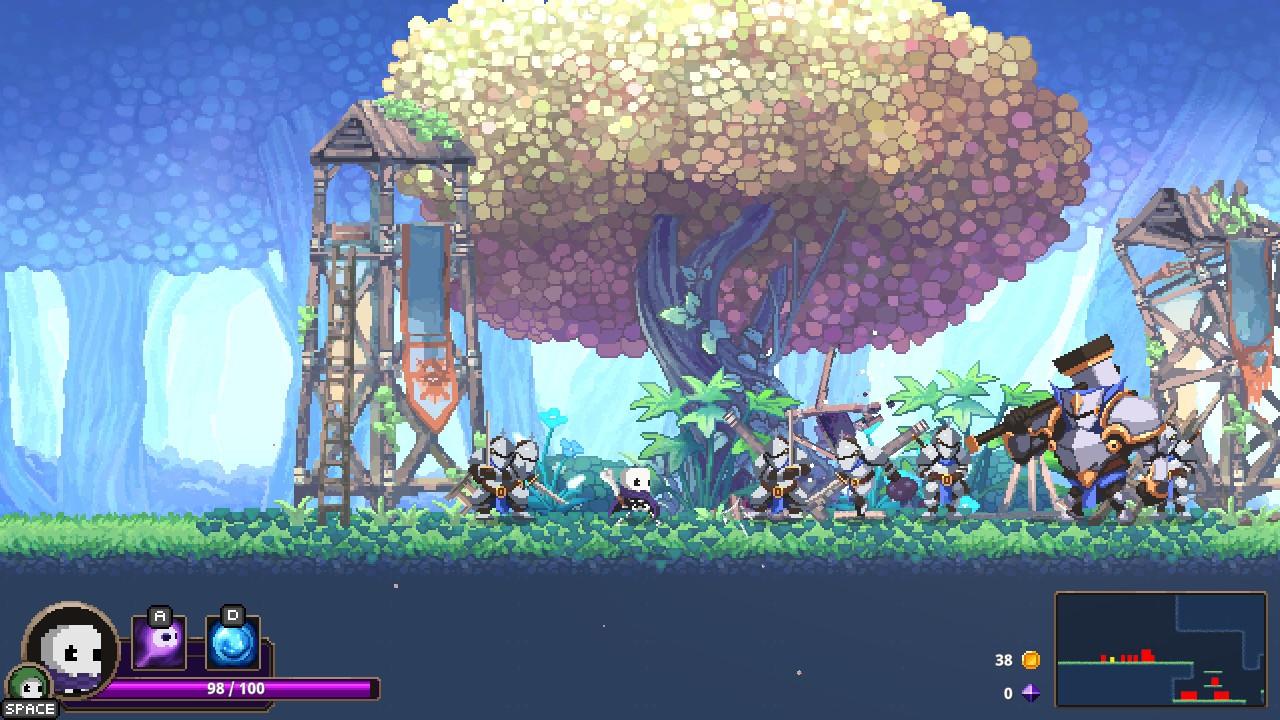 动作游戏《Skul:英雄杀手》新截图 扮演骷髅杀英雄