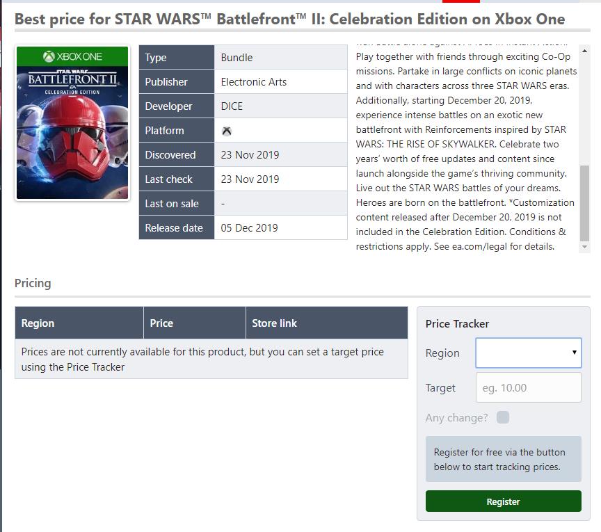 超級大包 EA《星球大戰:前線2》慶典版內容泄露!
