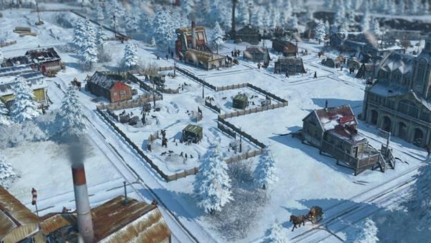 """《纪元1800》DLC3开发日志:极地世界""""冻人""""生存之旅"""
