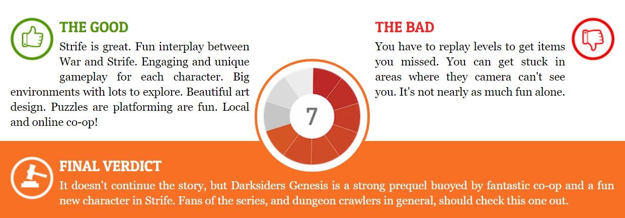 《暗黑血统:创世纪》IGN 8.7分:与主线不相上下甚至超越