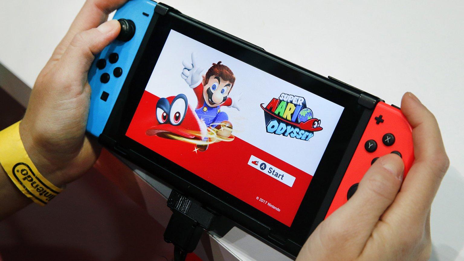 Switch在美国销量破1750万台  全球销量4100万台