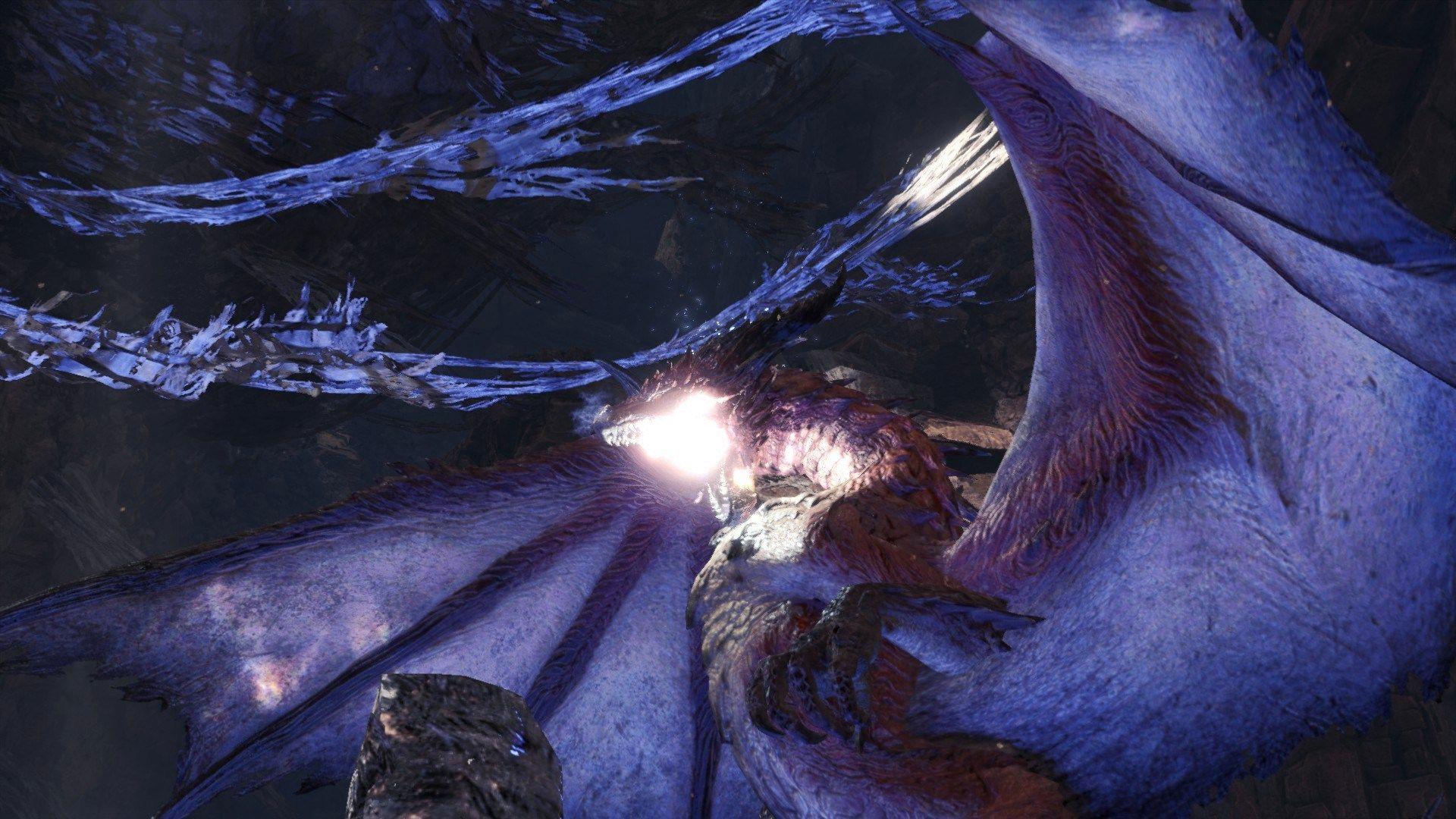《怪物猎人世界:冰原》新更新 神秘怪物冥赤龙登场