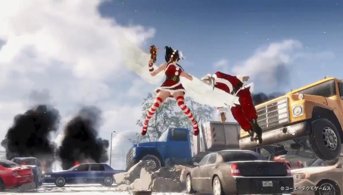 性感圣诞老人集结!《死或生6》28角色美丽圣诞衣装演示