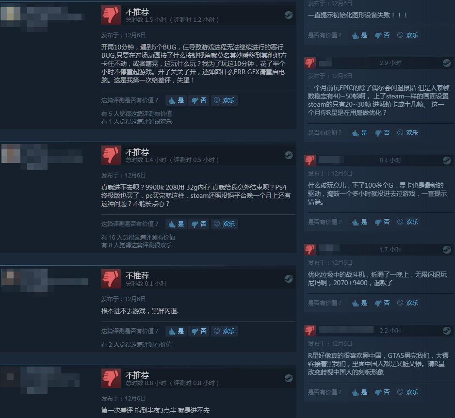 《荒野大镖客2》Steam评价褒贬不一 激情西部之旅
