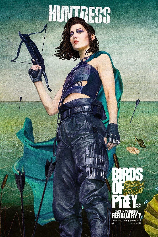 《猛禽小队》角色海报曝光 全新小丑女哈莉奎茵诞生
